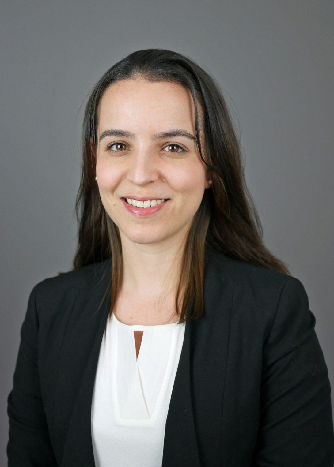 Alexandra Rodriguez smiling to camera