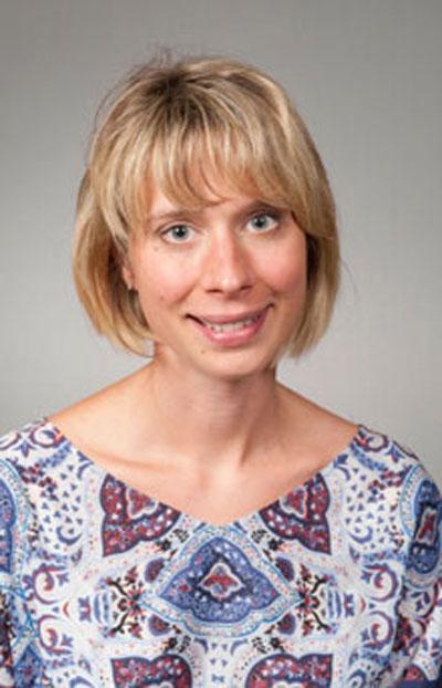 Anna Manzotti smiling to camera