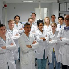 group of dentist standing