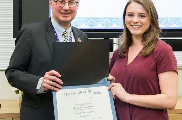 Student Annette Merkel Earns NIH Grant