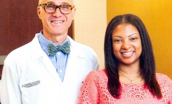 Dr. Michael Miloro Performs Microneurosurgery on University of Illinois Hospital and Health Sciences System Nurse