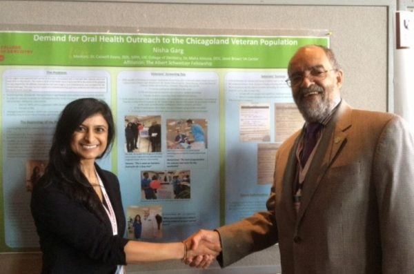 Dr. Nisha Garg Receives Community Dentistry Award from AAPHD