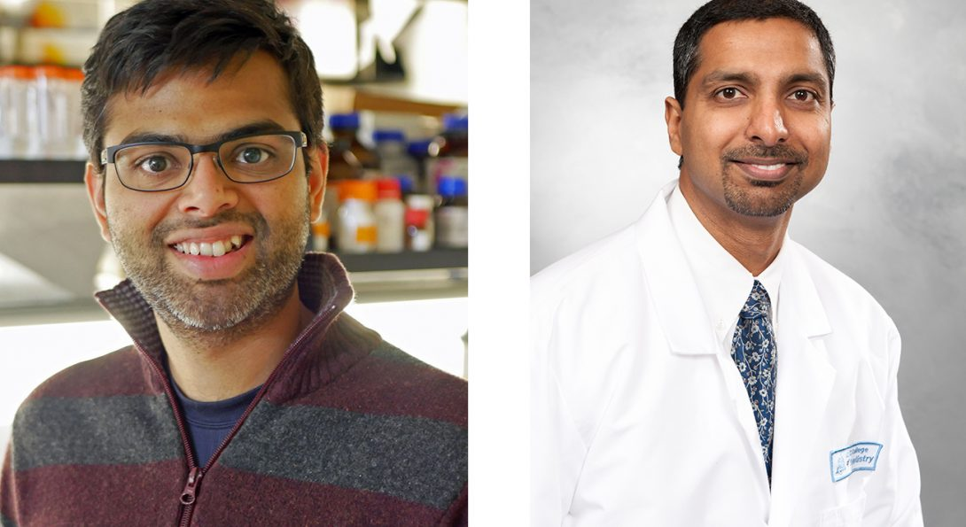 University of Illinois at Chicago College of Dentistry's Drs. Ravindran, Gajendrareddy Earn NIH Regenerative Medicine Grant