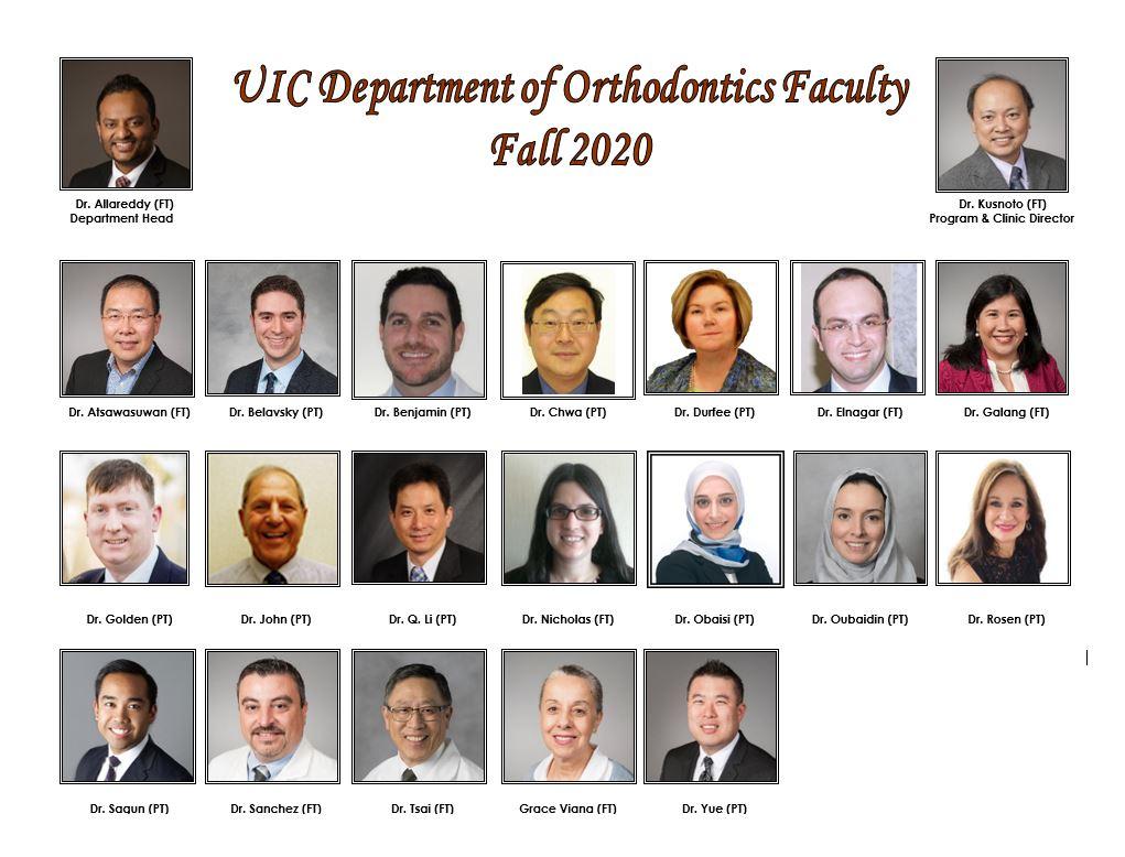faculty portraits