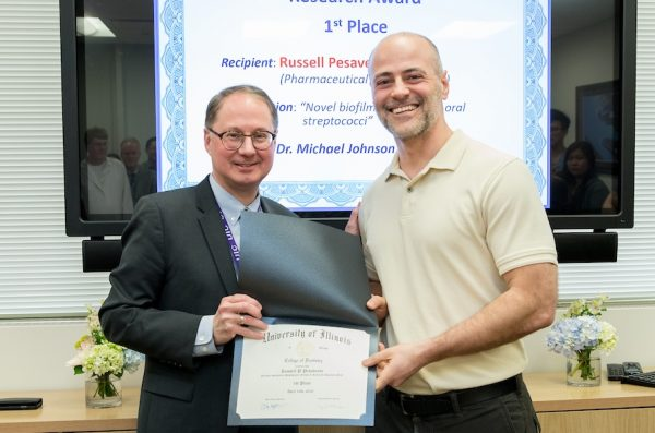 Dr. Russell Pesavento Wins UIC Chancellor's Translational Research Initiative (CTRI)