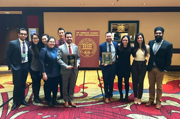 University of Illinois at Chicago College of Dentistry Prosthodontics Residents Win Top Poster Awards