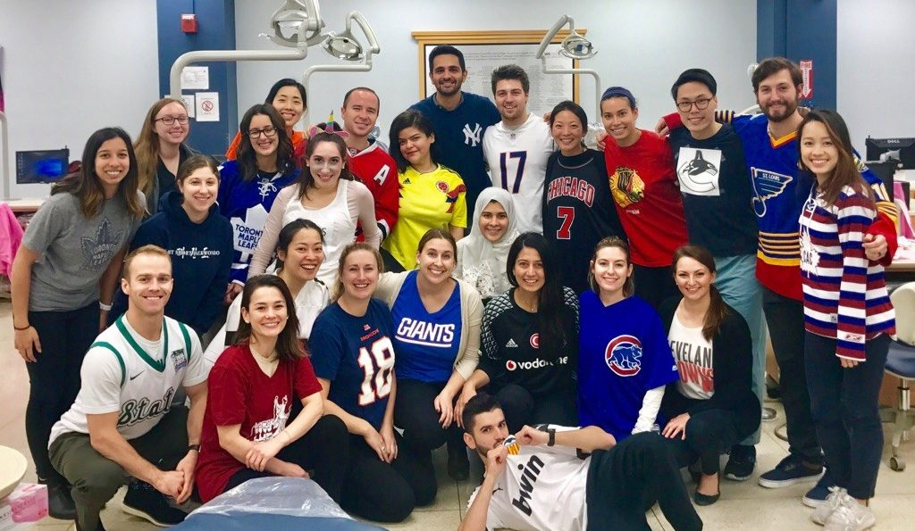 UIC Orthodontic Residents Celebrating the Annual Spirit Week