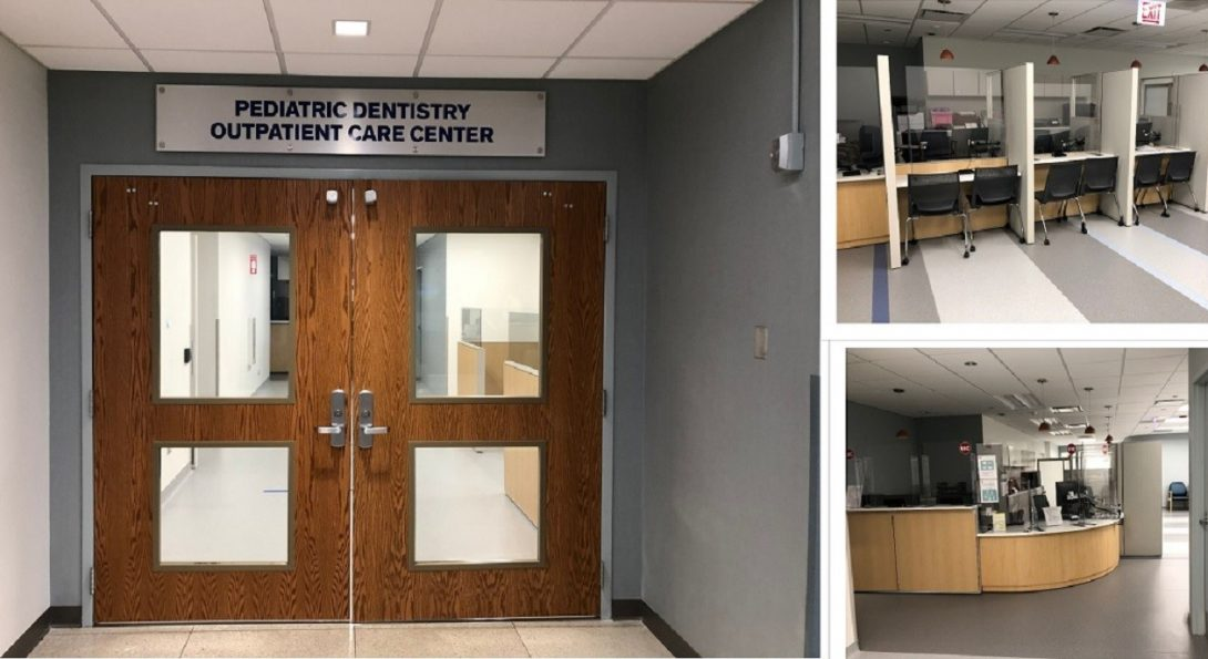 College of Dentistry is proud to announce the soft opening of the Illinois Children's Healthcare Foundation Pediatric Dentistry Outpatient Care Center (ILCHF PD-OCC) on September 8 2020.