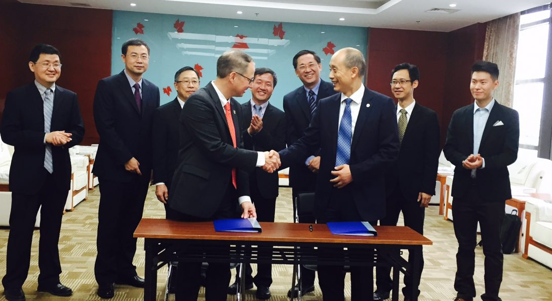Global Impact: Dean Stanford Builds Partnerships with Chinese Dental Schools