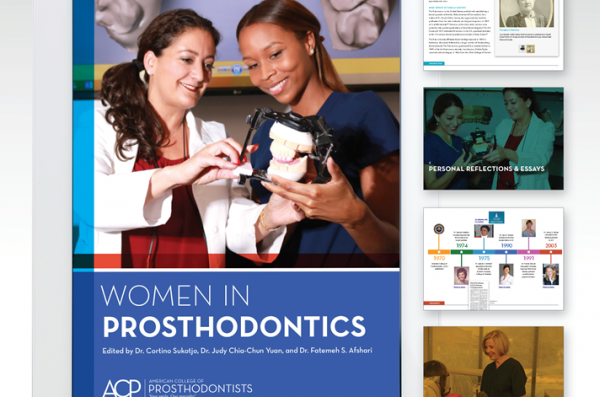Three  Professors Publish Women in Prosthodontics