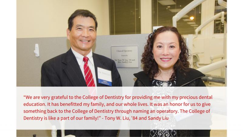 Alumni Donor Liu