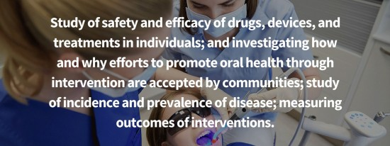 study of safety and efficacy of drugs, devices and treatments in individuals