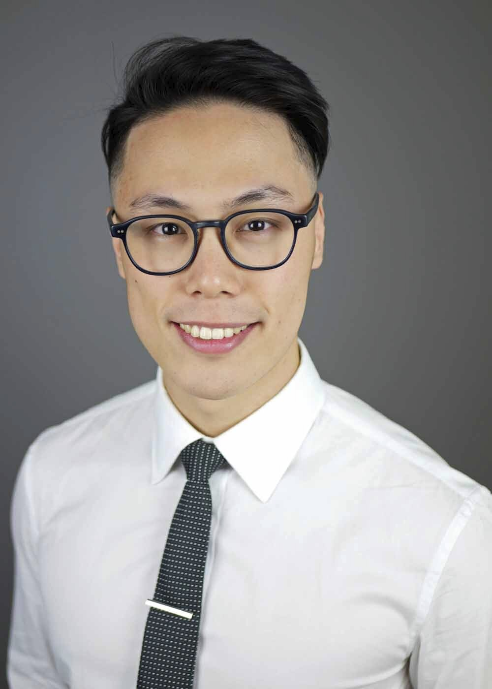 portrait of Dr. Michael Yang