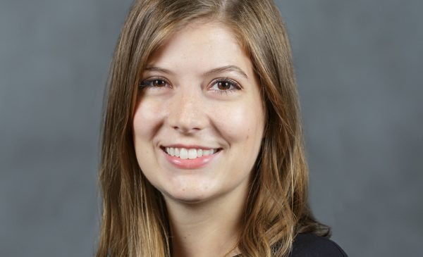 First-year UIC orthodontic resident Jessica Begley won essay contest award