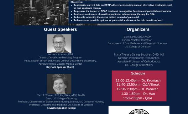 UIC's 2nd Virtual Pain and Sleep Symposium