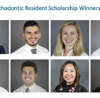 UIC Orthodontic Resident Scholarship Winners 2021