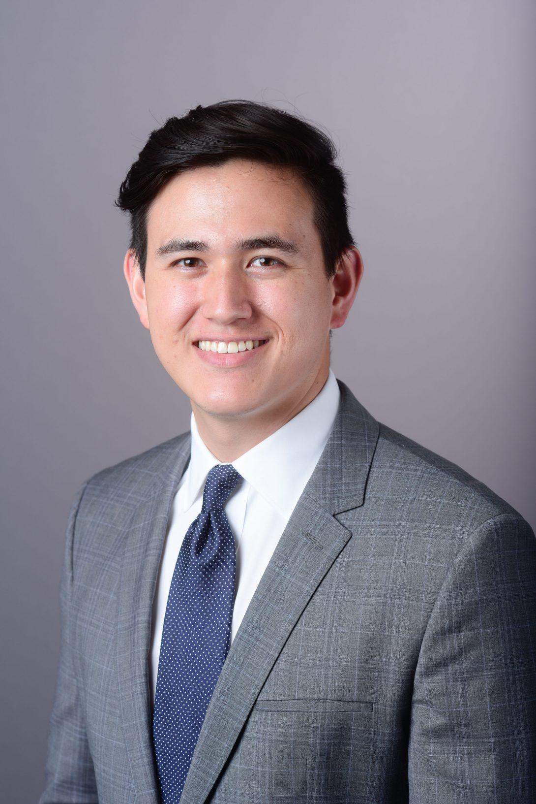 portrait of Dr. Matthew Rhee