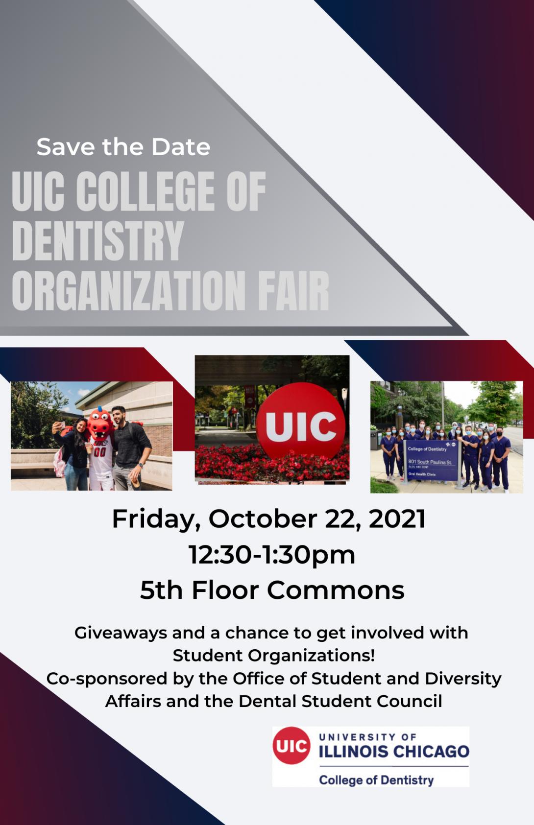 UIC College of Dentistry Organization Fair